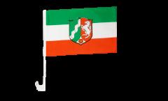 Bandiera per auto Germania Renania Settentrionale-Vestfalia - 30 x 40 cm