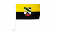 Bandiera per auto Germania Sassonia-Anhalt - 30 x 40 cm