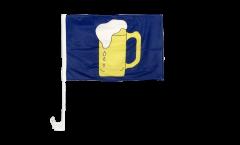 Bandiera per auto Birra - 30 x 40 cm