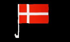 Bandiera per auto Danimarca - 30 x 40 cm