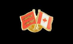 Spilla dell'amicizia Basse Normandie - Canada - 22 mm