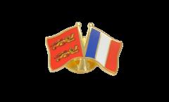 Spilla dell'amicizia Basse Normandie - Francia - 22 mm