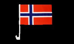 Bandiera per auto Norvegia - 30 x 40 cm