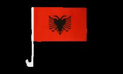 Bandiera per auto Albania - 30 x 40 cm