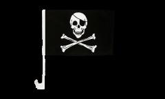 Bandiera per auto Pirata - 30 x 40 cm