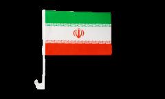 Bandiera per auto Iran - 30 x 40 cm