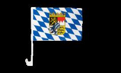 Bandiera per auto Germania Baviera con stemma - 30 x 40 cm