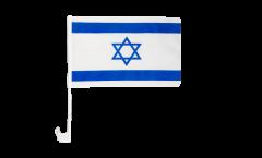 Bandiera per auto Israele - 30 x 40 cm