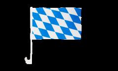 Bandiera per auto Germania Baviera senza stemmi - 30 x 40 cm