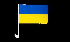 Bandiera per auto Ucraina - 30 x 40 cm