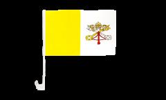 Bandiera per auto Vaticano - 30 x 40 cm