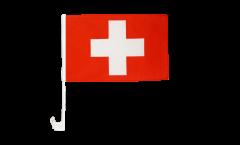 Bandiera per auto Svizzera - 30 x 40 cm