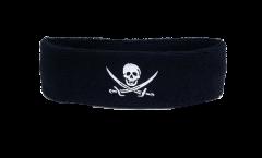 Fascia antisudore Pirata con due spade - 6 x 21 cm