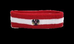 Fascia antisudore Austria con l'aquila - 6 x 21 cm