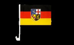 Bandiera per auto Germania Saarland - 30 x 40 cm