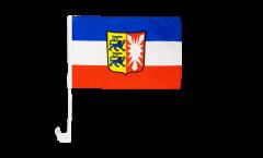 Bandiera per auto Germania Schleswig-Holstein - 30 x 40 cm