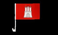 Bandiera per auto Germania Amburgo - 30 x 40 cm
