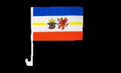 Bandiera per auto Germania Meclenburgo Pomerania - 30 x 40 cm