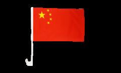 Bandiera per auto Cina - 30 x 40 cm