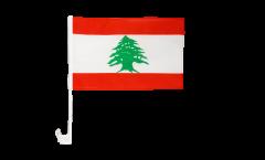 Bandiera per auto Libano - 30 x 40 cm
