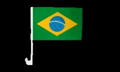 Bandiera per auto Brasile - 30 x 40 cm