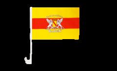 Bandiera per auto Germania Ducato di Baden 2 - 30 x 40 cm