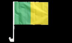Bandiera per auto verde-gialli - 30 x 40 cm