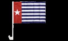 Bandiera per auto Nuova Guinea Occidentale - 30 x 40 cm