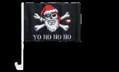 Bandiera per auto Pirata Yo ho ho - 30 x 40 cm