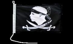 Bandiera da barca Pirata Corsica - 30 x 40 cm