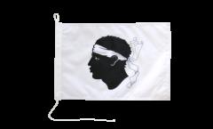 Bandiera da barca Francia Corsica - 30 x 40 cm