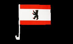 Bandiera per auto Germania Berlino - 30 x 40 cm
