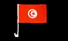 Bandiera per auto Tunisia - 30 x 40 cm