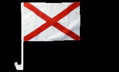 Bandiera per auto USA Alabama - 30 x 40 cm