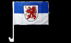Bandiera per auto Germania Pomerania - 30 x 40 cm