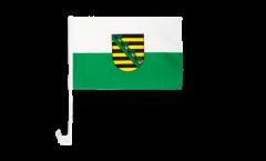 Bandiera per auto Germania Sachsen - 30 x 40 cm