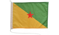 Bandiera da barca Francia Guyana Francese - 30 x 40 cm
