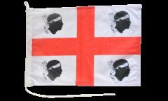Bandiera da barca Italia Sardegna - 30 x 40 cm