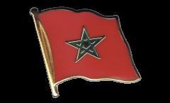 Spilla Bandiera Marocco - 2 x 2 cm