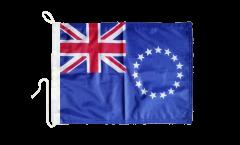 Bandiera da barca Isole di Cook - 30 x 40 cm