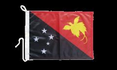 Bandiera da barca Papua-Nuova Guinea - 30 x 40 cm
