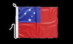 Bandiera da barca Samoa - 30 x 40 cm