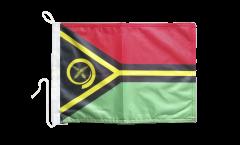 Bandiera da barca Vanuatu - 30 x 40 cm