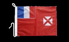 Bandiera da barca Wallis e Futuna - 30 x 40 cm