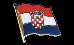 Spilla Bandiera Croazia - 2 x 2 cm