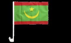 Bandiera per auto Mauritania - 30 x 40 cm