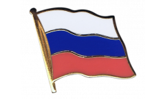 Spilla Bandiera Russia - 2 x 2 cm
