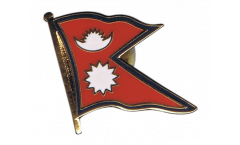 Spilla Bandiera Nepal - 2 x 2 cm