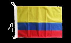 Bandiera da barca Colombia - 30 x 40 cm