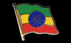 Spilla Bandiera Etiopia - 2 x 2 cm